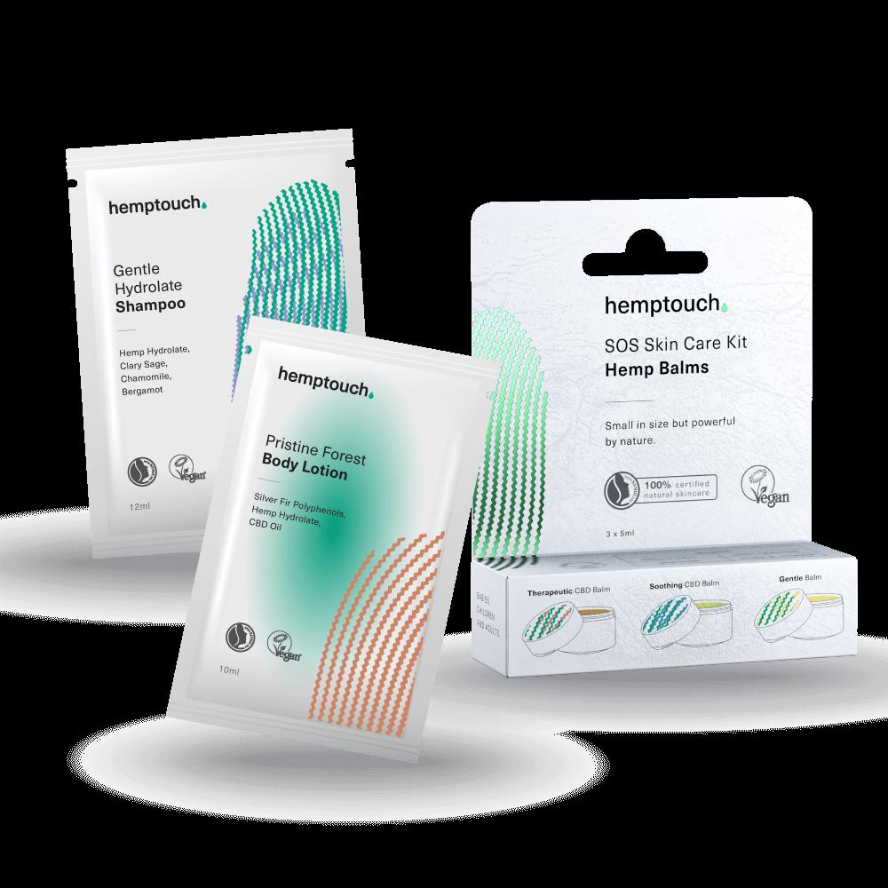 Sample Kit for body care