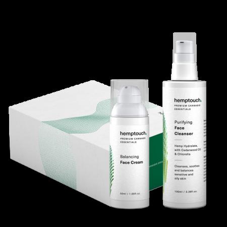 pacchetto per alleviare l'acne